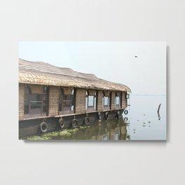 Houseboats I Metal Print