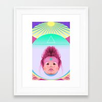 eugenia loli Framed Art Prints featuring Loli Lu Lu by Sunny Switchblades
