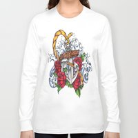 anchors Long Sleeve T-shirts featuring Anchors Away by 'Til Death Designs