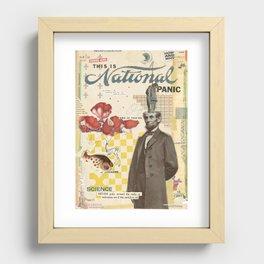 PANICX Recessed Framed Print