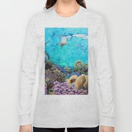 Shiver - Sharks in the Reef Long Sleeve T-shirt