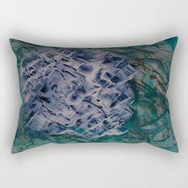 Hockney's Swimming Pool Rectangular Pillow