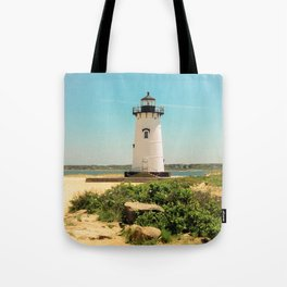 Edgartown Lighthouse, Martha's Vineyard, Massachusetts Tote Bag