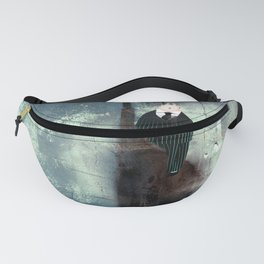 Time Rabbit and Crane Fanny Pack