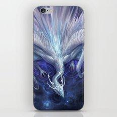 White Crystal Dragon iPhone & iPod Skin