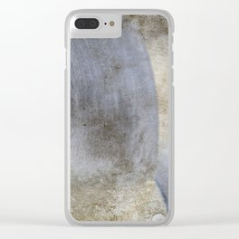 Abstract Weave Clear iPhone Case