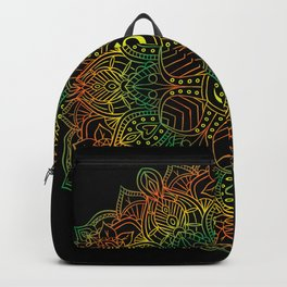 Mandala Ohm Yay Green Backpack