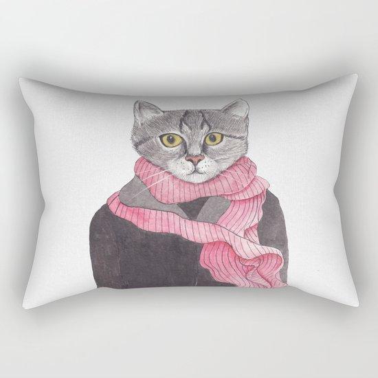 I'm No Cat Rectangular Pillow