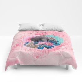 FLORAL ELEPHANT Comforters