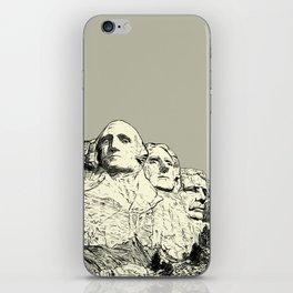 Mount Rushmore National Memorial iPhone Skin