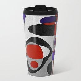 Abstract #93 Travel Mug