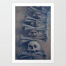 Kostnice Art Print