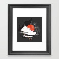 Uncharted Voyage Framed Art Print