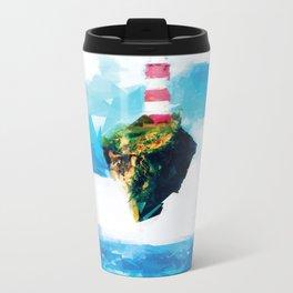Lighthouse Metal Travel Mug