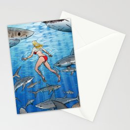 Below The Surface! Stationery Cards