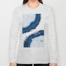 Agate Glitter Glam #14 #gem #decor #art #society6 Long Sleeve T-shirt