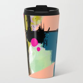 abstract color play Travel Mug