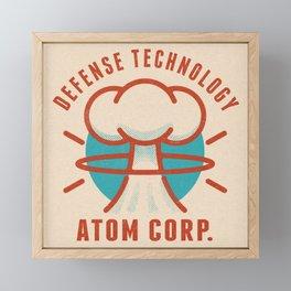 Atom Corp. Logo Framed Mini Art Print