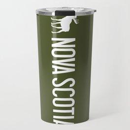 Nova Scotia Moose Travel Mug