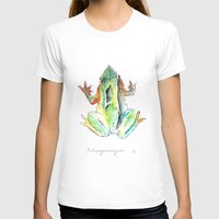 darwin T-shirts featuring Ranita de Darwin by Katica Puga