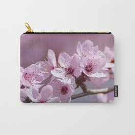 Pink flowers. Blossons. Spring.. Granada. Spain Carry-All Pouch