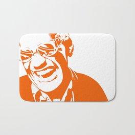 Ray Charles – Orange Bath Mat