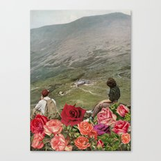 Life is a Bed of Roses Canvas Print