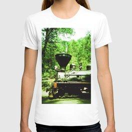 Train at Sugar Pine Railroad T-shirt