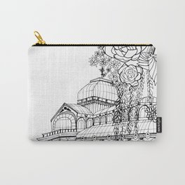 Conservatory of succulent - Black Carry-All Pouch