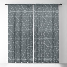 Cityscape Geo 2 Sheer Curtain