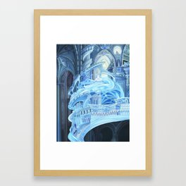 Water Cathedral Framed Art Print