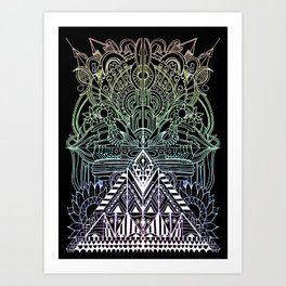 the other world Art Print