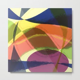 Abstract #465 Metal Print