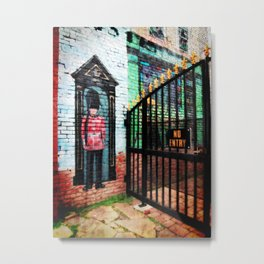 British Guard Metal Print