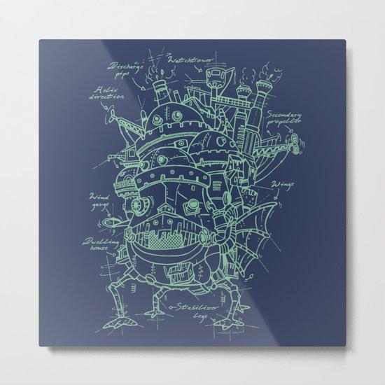 Chateau Ambulant Metal Print
