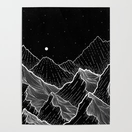 Sea mountains Poster