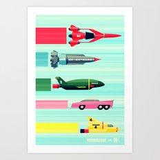 THUNDERBIRDS! Art Print