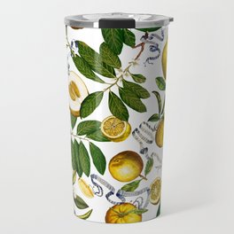 LEMON TREE White Travel Mug