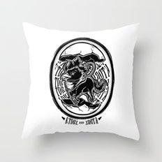 Abraxas Throw Pillow