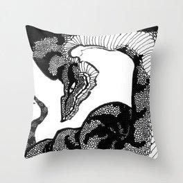Jörmungandr Throw Pillow