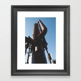 Gas Works Framed Art Print