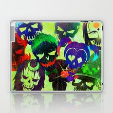 Suicide Squad Skulls Laptop & iPad Skin