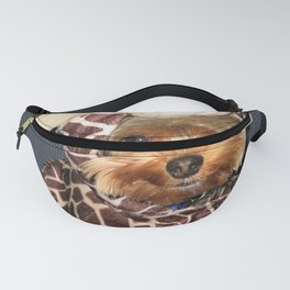 Yorkie | Puppy | Dogs | Sweet Giraffe Costume | Yorkshire Terrier Fanny Pack