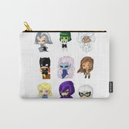 Chibi Heroines Set 1 Carry-All Pouch