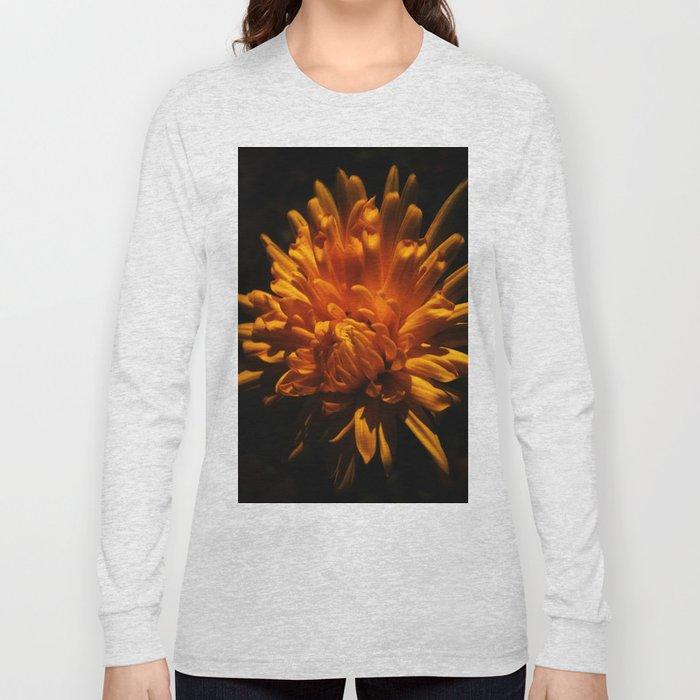 Autumn Flower Long Sleeve T-shirt