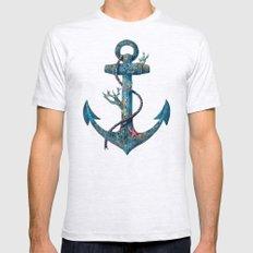 Lost at Sea Ash Grey MEDIUM Mens Fitted Tee