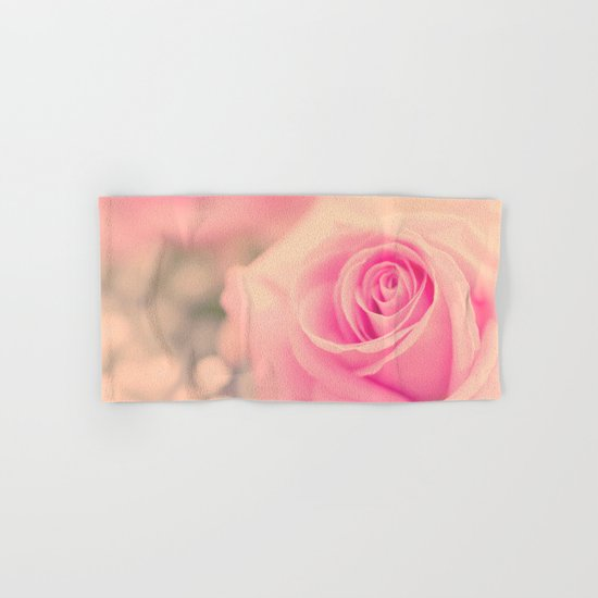 Vintage roses flowers floral - Pink rose flower bunch #Society6 Hand & Bath Towel