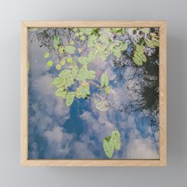 Looking Down or Looking Up Framed Mini Art Print