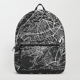 STUTTGART City Map | Germany | Black | More Colors, Review My Collections Backpack