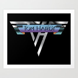 Hot for Hardy Art Print